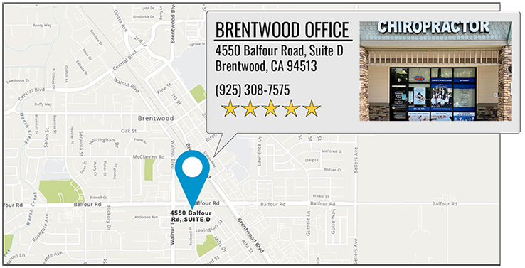 Martin Family Chiropractic Centers's Brentwood office location on google map