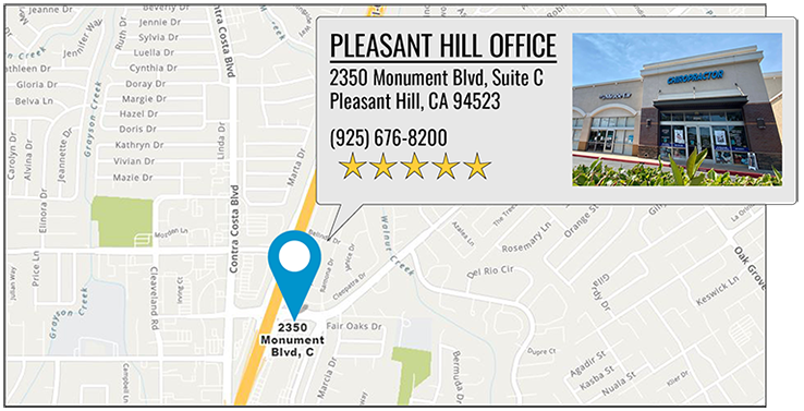 Martin Family Chiropractic Centers's Pleasant Hill office location on google map