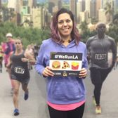 Veronica's running LA Marathon after Chiropractic Adjustment