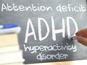 Patient suffering from ADHD